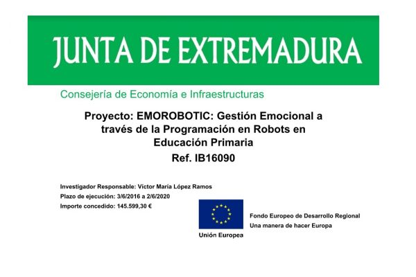 RoboLab participates in a new project related to children