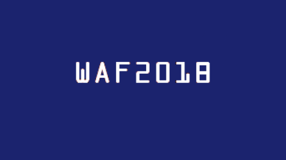New Paper Accepted WAF2018